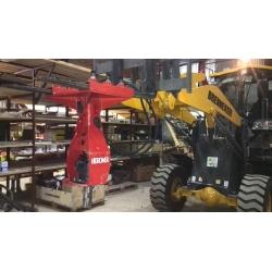 Переходная плита (ВИЛЫ - гидробур) Фронтальные погрузчики  с грузоподъёмностью от 3 тонн.